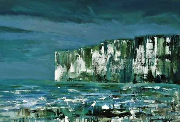 Nikki Wheeler - Stormy White Cliffs