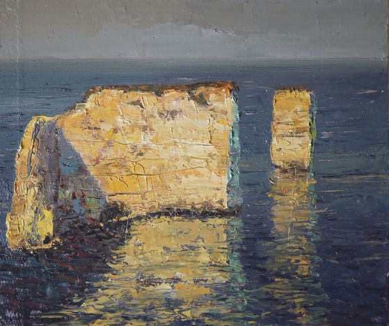Robby Bridge - The Old Harry Rocks, Dorset, England