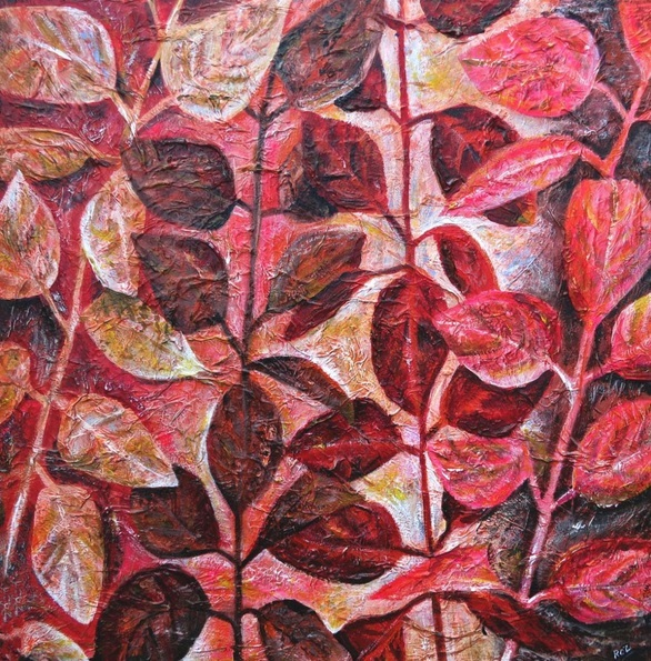 Roz Edwards - Contemporary Leaves