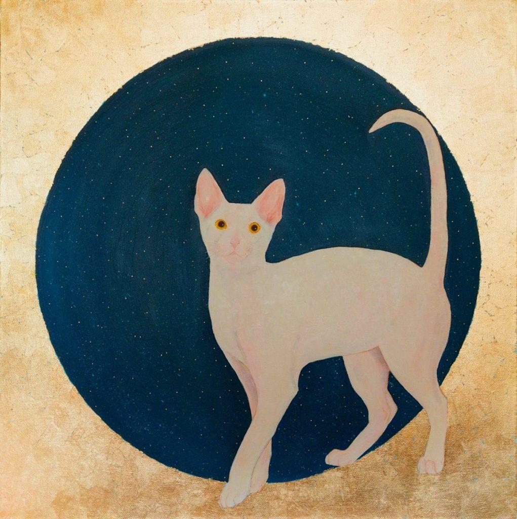 Yuliia Ustymenko - Lunar cat