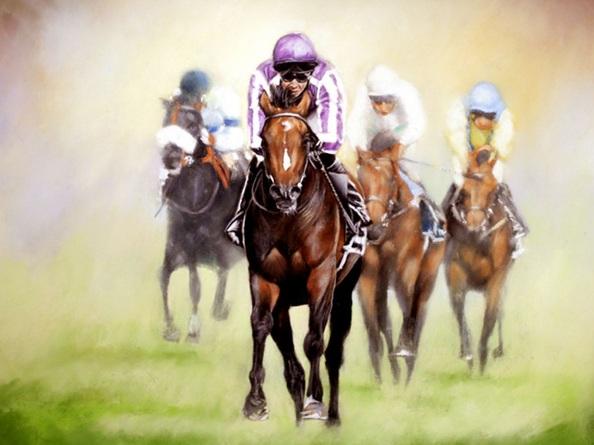 Brian Halton - Camelot Wins The Derby