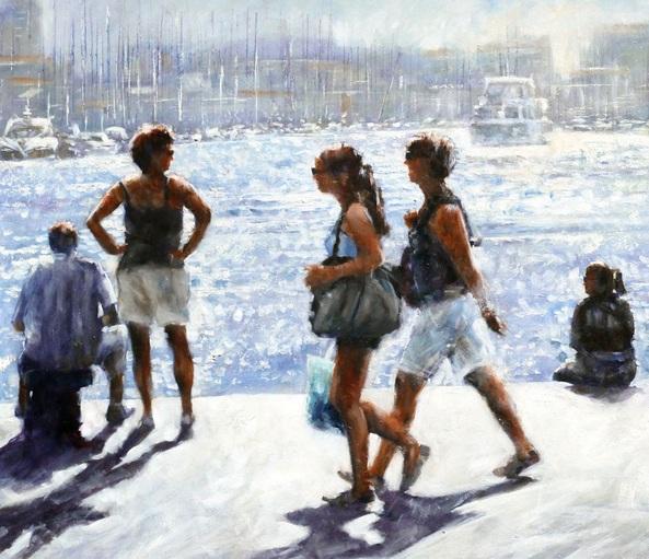 Brian Halton - Old Port, Marseille