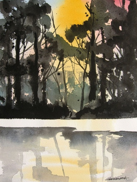 CHARLES ASH - Bosque Morning