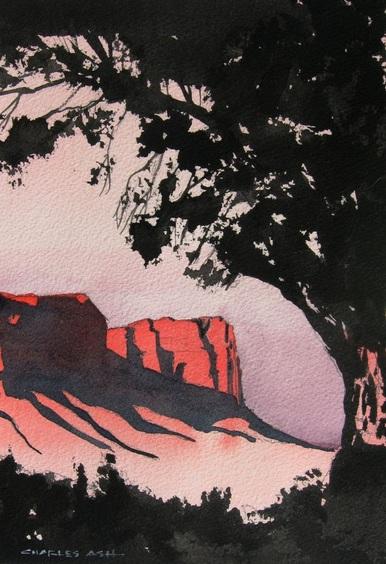CHARLES ASH - Canyonland Sunset