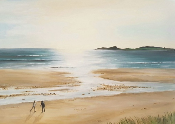 Coralie Foster - A walk on the beach