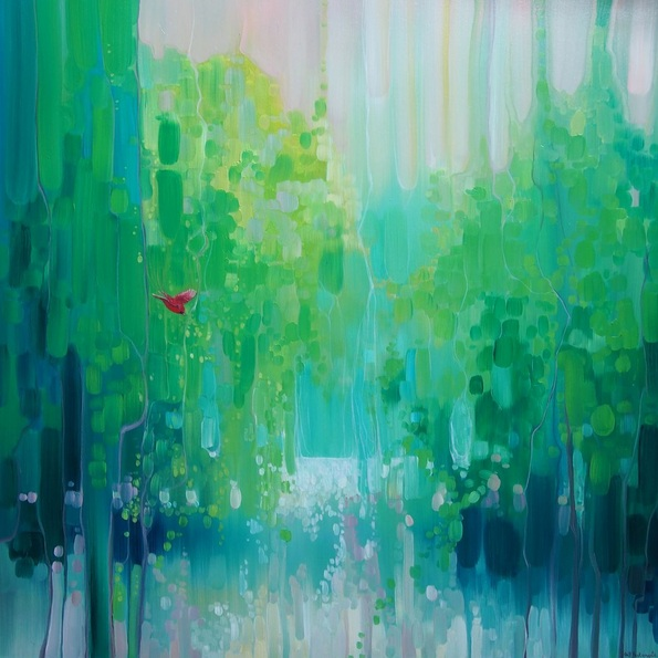 Gill Bustamante - Scarlet's Green World