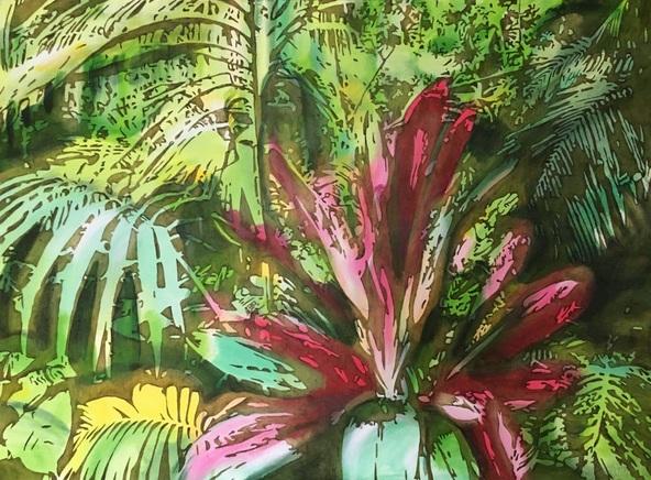 Joanna Szumska - Secret garden - Havana