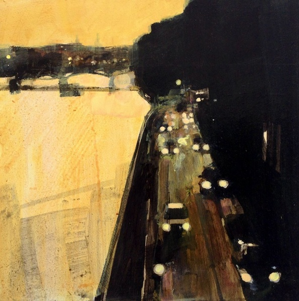 Julian Sutherland-Beatson - Hometime. Quai du Louvre, Paris 13 Sept.