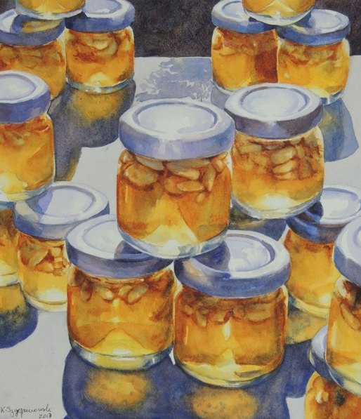 Krystyna Szczepanowski - Pergamon honey