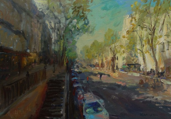 Manuel Leonardi - Grands Boulevards ,Paris