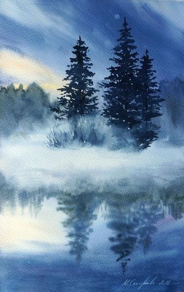 Maria Smirnova - Blue fog