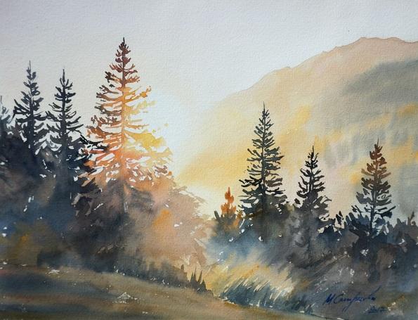 Maria Smirnova - Morning sun