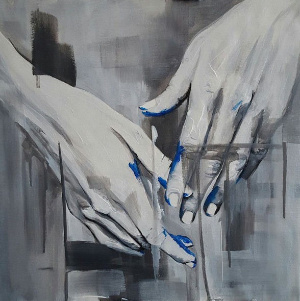 Sarah Barnard - The Artist's Hands