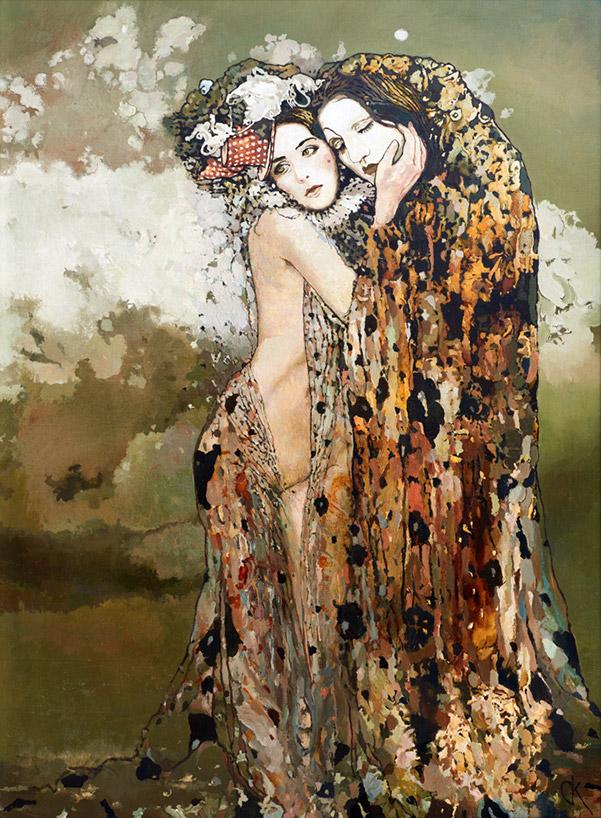 Stanislaw Krupp - Pierrot and Colombina