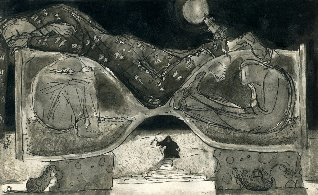 Anastasia Kurakina-LIFE-OF-DEATH-Lazybones-Лентяй