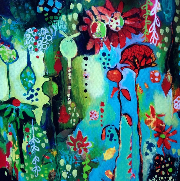 CLARE WASSERMANN - In Amongst The Flowers
