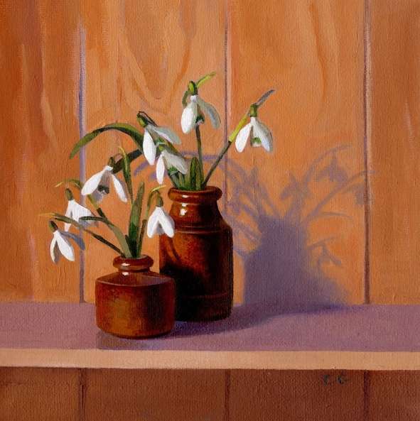 Carole Griffin RBA - Snowdrops and Shadow