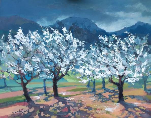 Diana Davydova - Almond Orchard