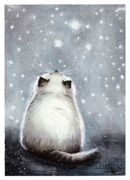 Evgeniya Kartavaya - First snow