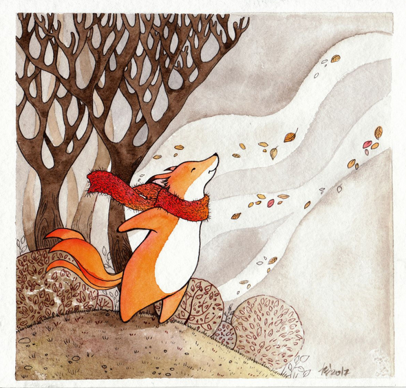 Evgeniya Kartavaya - Foxy fairy tales autumn wind