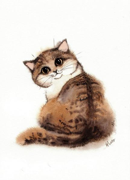 Evgeniya Kartavaya - Kitten