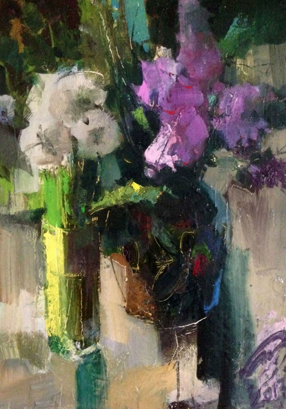 Igor Yuryev - A bouquet with a lilac