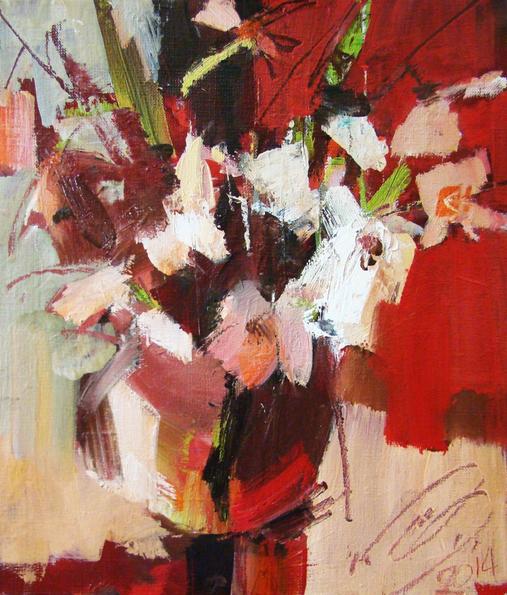 Igor Yuryev - White flowers