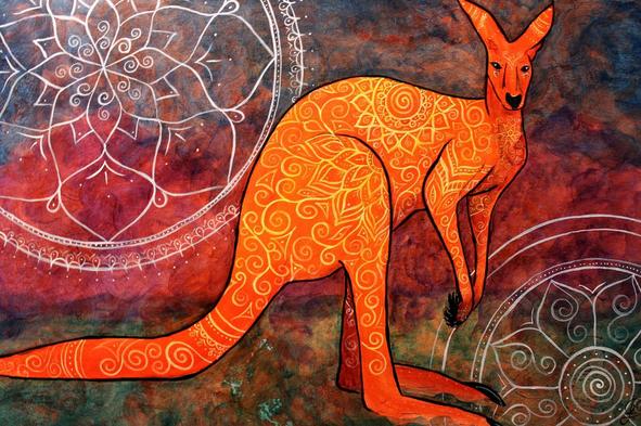 Kris Fairchild - Mystic Kangaroo