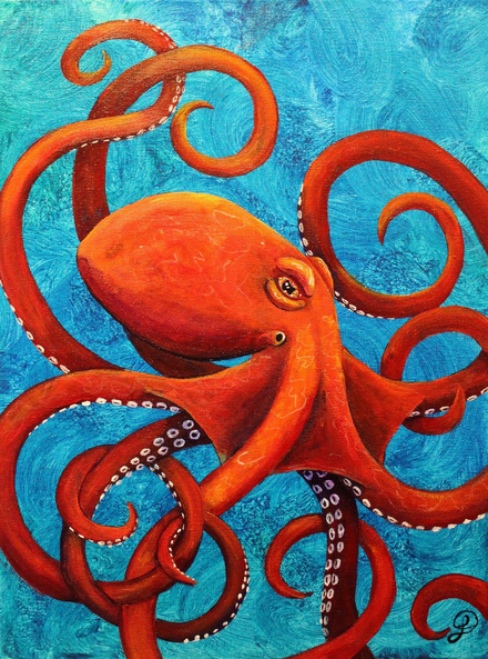 Kris Fairchild - Octopus - Holding on