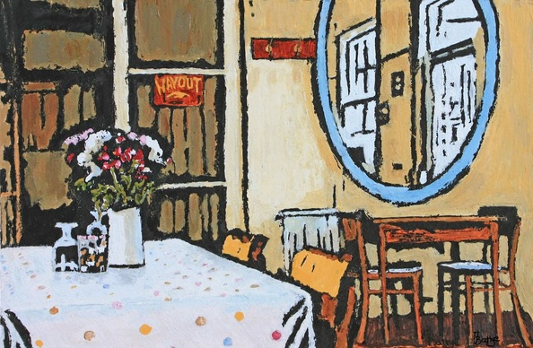 Margaret Battye - 50's Cafe