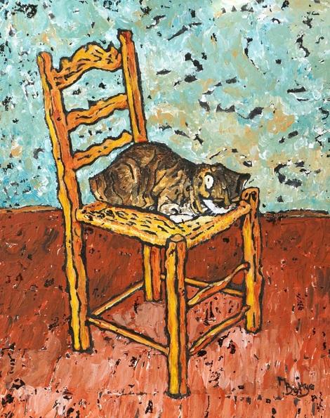 Margaret Battye - Sleeping Cat