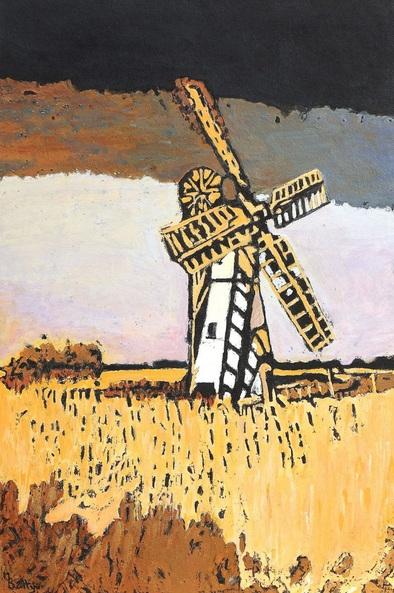 Margaret Battye - Windmill At Thurne