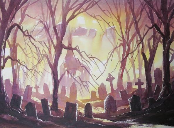 Matthew Forster - The Gothic Graveyard