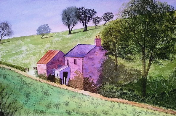 Roger Callow - NORTHUMBRIAN FARM COTTAGE
