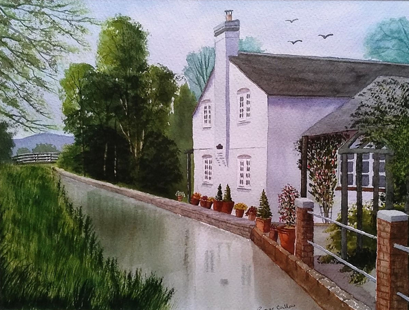 Roger Callow - THE LOCK KEEPER'S COTTAGE