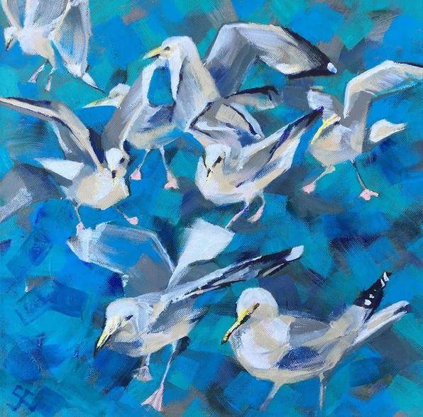 Susan Clare - Seagulls