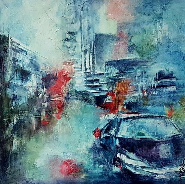 Sylvaine Catoire - Dans la ville 4