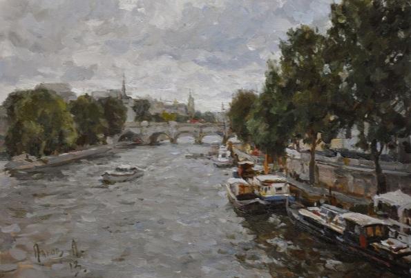 Alex Panov - Paris. The Seine River