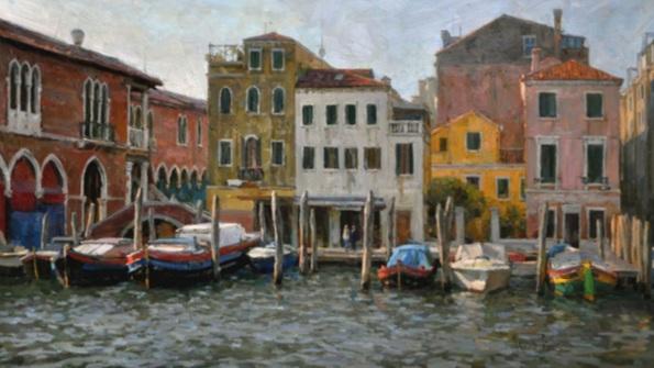 Alex Panov - Venice. Grand canal