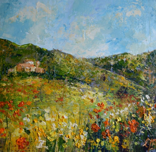 Colette Baumback - Spring in Tuscany