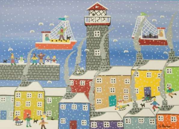 Gordon Barker - Snowy harbour