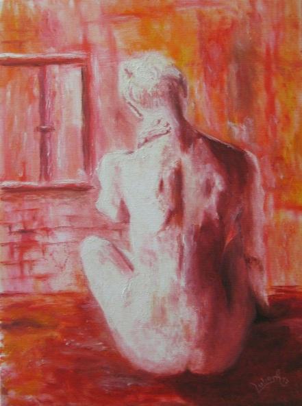 Lubosh Valenta - Girl in Red