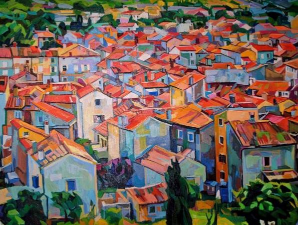 Maja Đokić Mihajlović - Cityscape Of Island Town