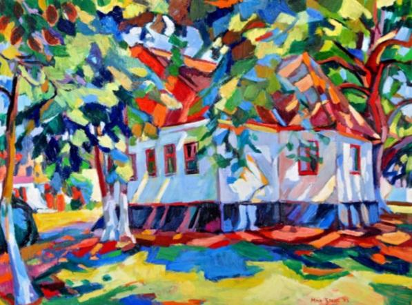 Maja Đokić Mihajlović - Lonely house among treetops