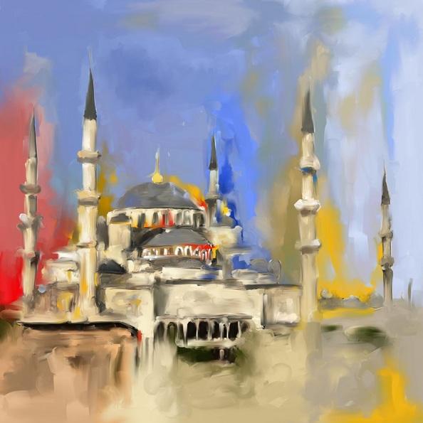 Mawra Tahreem - Blue Mosque