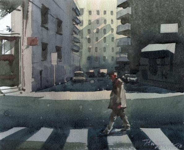 Milan Pluzarev - Zebra crossing