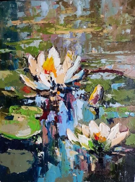 Ruslan Korostenskiy - Water lilies