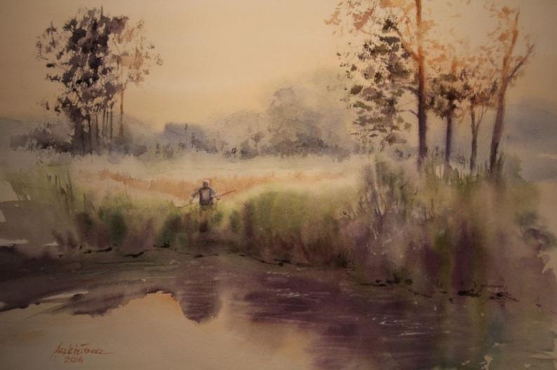 Agnieszka Aszkiełowicz - The river