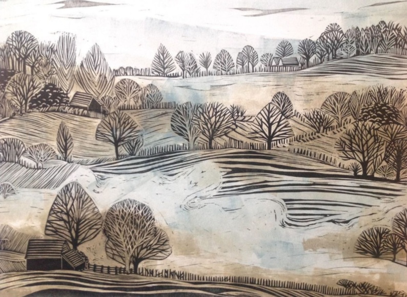 Alison Headley - A Winter Landscape