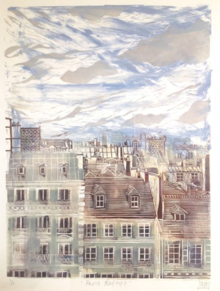 Alison Headley - Paris Rooftops